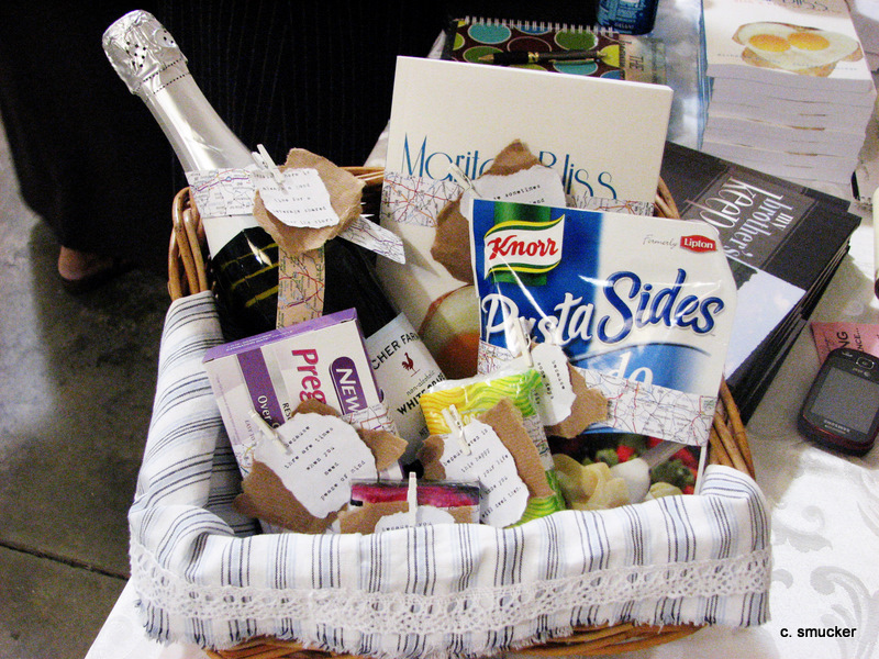 Gift Basket For A New Bride Marital Bliss With A Kiss Of