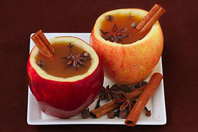serving apple cider